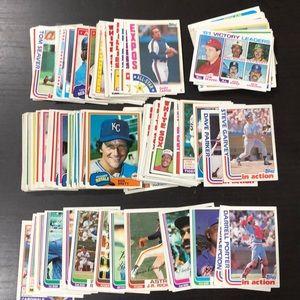 1981-84' Topps Baseball Cards - Lot of 130